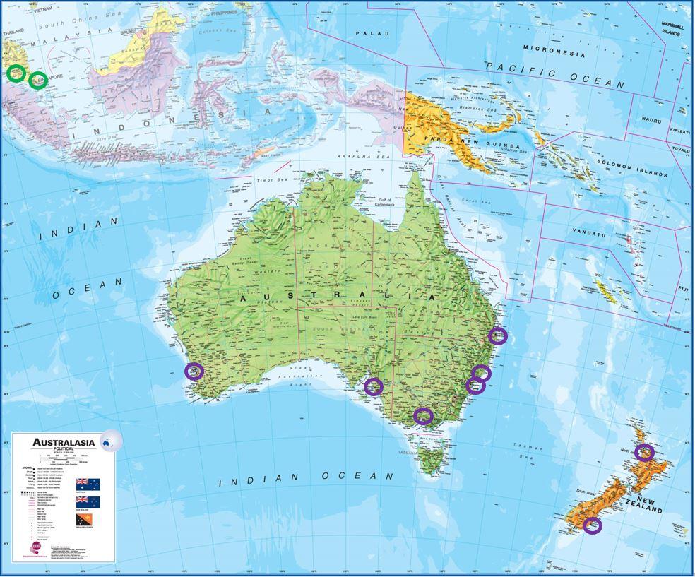 Pharmacometrics in Oceania
